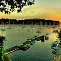 Sunrise On Mallet's Bay by Wayne King
