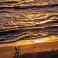 Sunrise On Melbourne Beach by Frank Mari