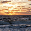 Sunrise On Pompano Beach Pompano Florida by Toby McGuire