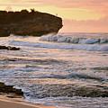 Sunrise On Shipwreck Beach by Marie Hicks