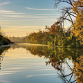Sunrise On The Canal by Tim Wilson