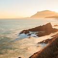 Sunrise On The Cantabrian Coast In Muskiz by Carlos Aragon