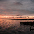 Sunrise On The Dock by Kevin Quinn
