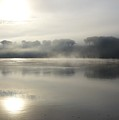 Sunrise On The Hudson River No 9 by Cheryl Kurman
