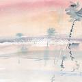 Sunrise On The Lagoon Ccxv by Alexandre DUMITRESCU