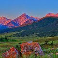 Sunrise On The Lost River Range by Greg Norrell
