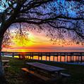 Sunrise On The Neuse by Jay Whipple