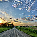 Sunrise On The Road by Bonfire Photography