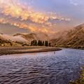 Sunrise On The Salmon Idaho Journey Landscape Photography By Kaylyn Franks  by Kaylyn Franks