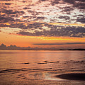 Sunrise On The Shore  by Paula OMalley