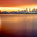 Sunrise On The Weehawken Waterfront by Jim DeLillo