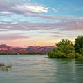 Sunrise Over A Colorado Lake  by Ronda Kimbrow