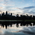 Sunrise Over Angkor Wat In Cambodia by Didier Marti