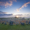 Sunrise Over Beaghmore Stone Circles by Gareth McCormack