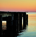 Sunrise Over Chesapeake Bay by Rebecca Sherman