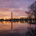 Sunrise Over Constitution Gardens by Michael Donahue