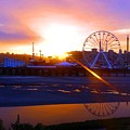 Sunrise Over Del Mar Fair by Kevin Grold
