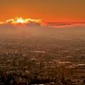 Sunrise Over El Paso by Susan Rissi Tregoning