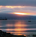 Sunrise Over Kachemak Bay by Edie Ann Mendenhall