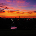 Sunrise Over Kennedy's Grave Arlington Cemetery by William Rogers