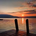 Sunrise Over Keuka IIi by Steven Ainsworth