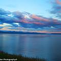 Sunrise Over Lake Yellowstone by Diane Shirley