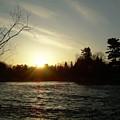 Sunrise Over Mississippi River by Kent Lorentzen