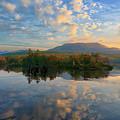 Sunrise Over Mt. Katahdin by Jesse MacDonald