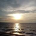 Sunrise Over Myrtle Beach, Sc by Darla Hershey