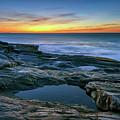 Sunrise Over Pemaquid Point by Rick Berk
