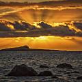 Sunrise Over Rabbit Head Island by Mitch Shindelbower