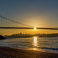 Sunrise Over San Francisco by Jack Peterson