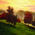 Sunrise Over Shenandoah Valley by Connie Tom