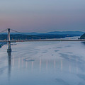 Sunrise Over The Hudson by Eleanor Bortnick
