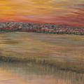 Sunrise Over The Marsh Part II by Nadine Rippelmeyer
