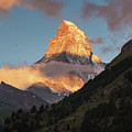 Sunrise Over The Matterhorn In Zermatt Switzerland by Alissa Beth Photography