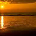 Sunrise Over The Ocean by Svetlana Sewell