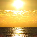 Sunrise Over The Ocean8833 by T Powell