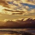 Sunrise Over The Spit by Lori Mahaffey