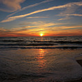 Sunrise Over The Waves by Richard Jarcy