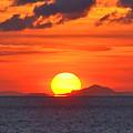 Sunrise Over Western Cuba by Don Mercer