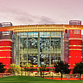 Sunrise Panorama Of George R Brown Convention Center In Downtown Houston - Texas by Silvio Ligutti