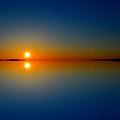 Sunrise Reflection 2  by Lyle Crump
