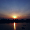 Sunrise Reflection by Atullya N Srivastava