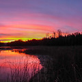 Sunrise Reflection by Richard Kitchen