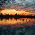 Sunrise Reflection by Robert Coffey