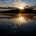 Sunrise Reflections by Sandra Updyke