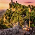Sunrise - San Marino by Nico Trinkhaus