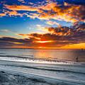 Sunrise Serenades The Beach by Josh Herrington