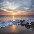 Sunrise Surf by Debra and Dave Vanderlaan